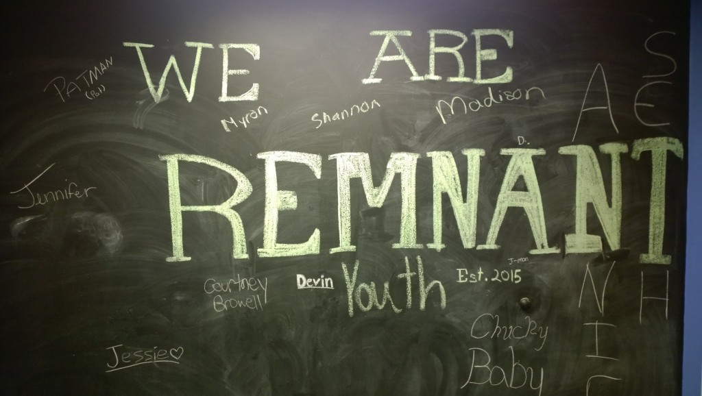 We are remnant youth