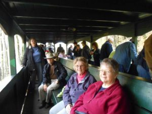 Cass Railroad train ride